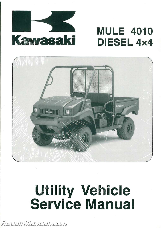 Kawasaki Mule Diesel Oil