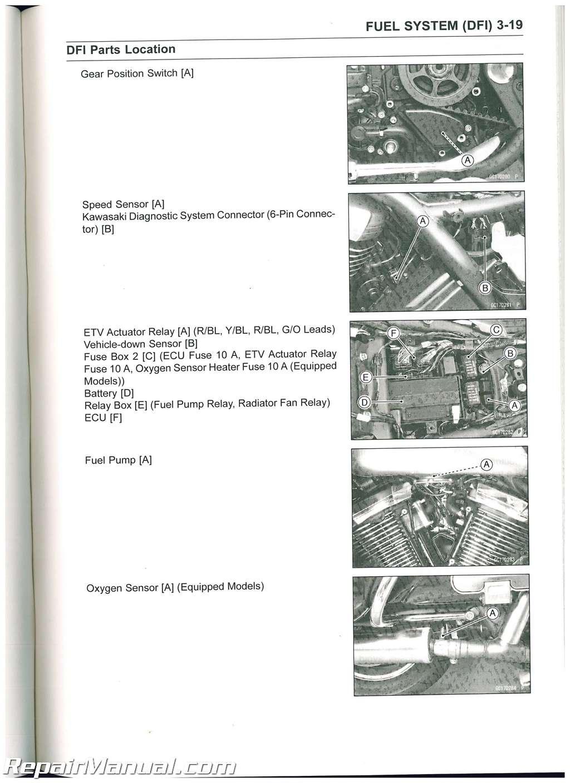 Kawasaki 1700 Service manual