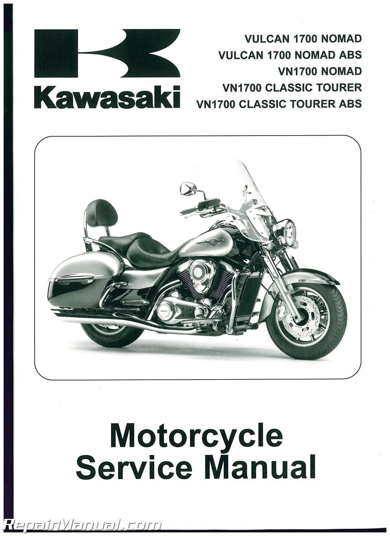 2009-2013-Kawasaki-VN1700C-Vulcan-Nomad-Motorcycle-Service- ...