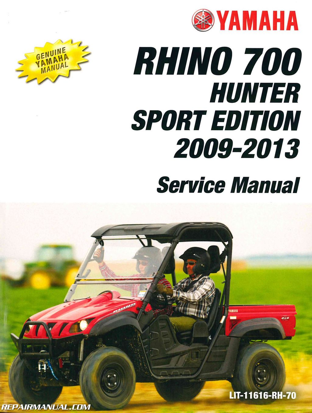 Yamaha Rhino Service Manual