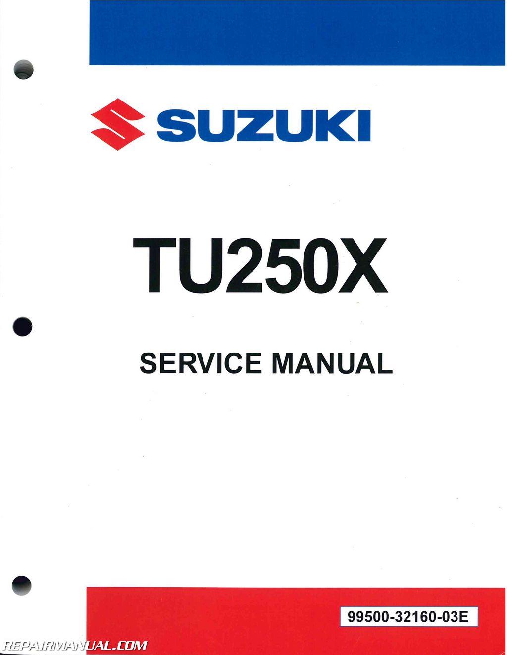 2017 Suzuki TU250X Motorcycle Service Manual