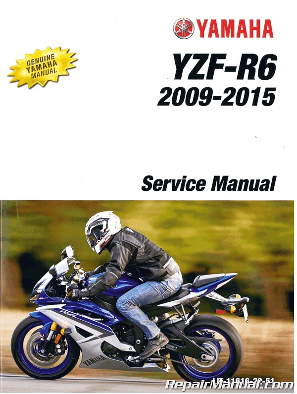 [SCHEMATICS_4FD]  2009-2015 Yamaha YZF-R6 YZFR6 Motorcycle Service Manual | 2015 Moto Yamaha R6 Engine Diagram |  | Repair Manuals Online
