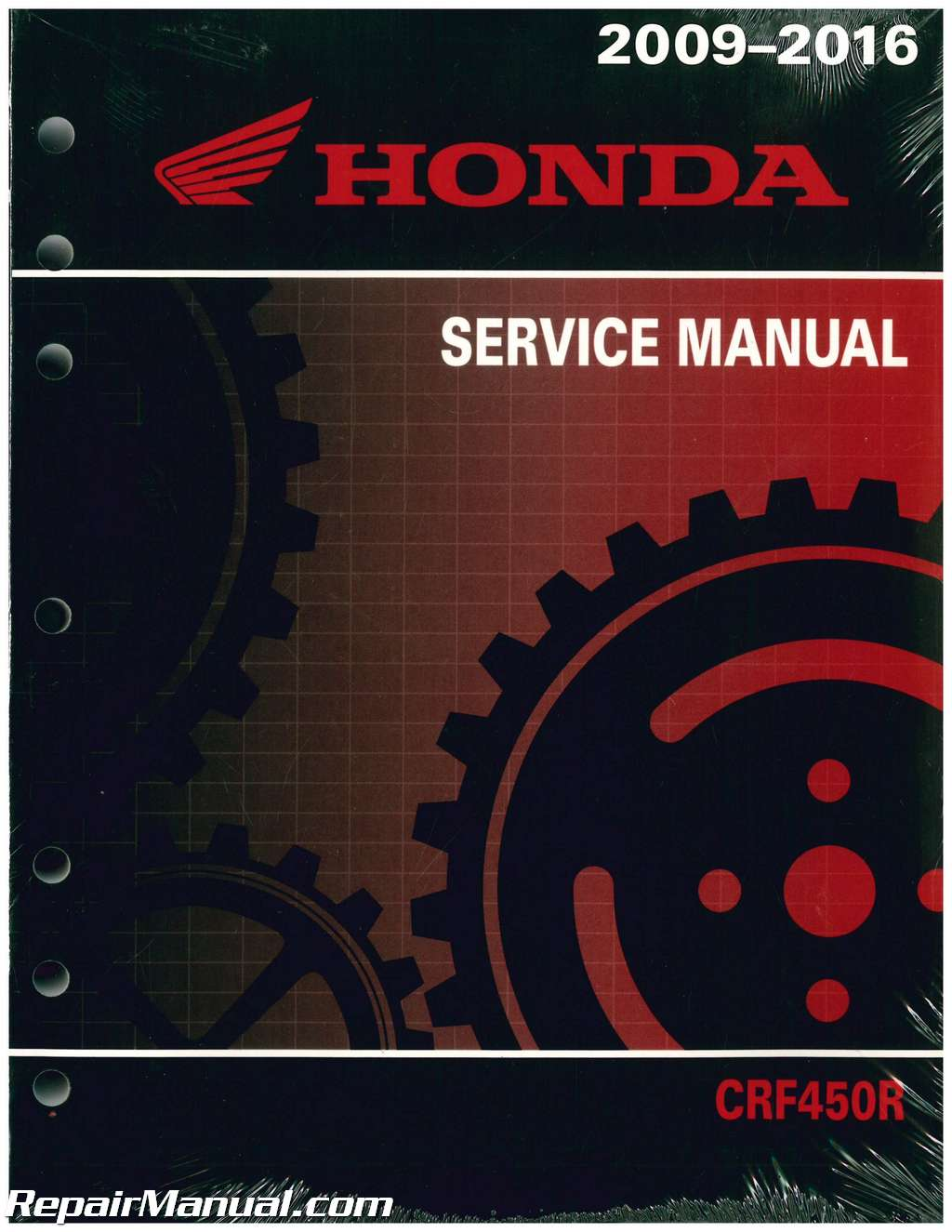 2009 2016 Honda CRF450R Motorcycle Service Manual