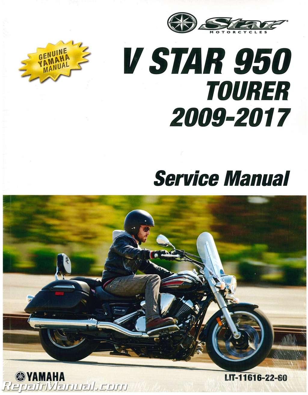 2009 2017 yamaha xvs950 v star motorcycle service manual rh repairmanual com yamaha v star service manual pdf yamaha v star 1100 service manual free download