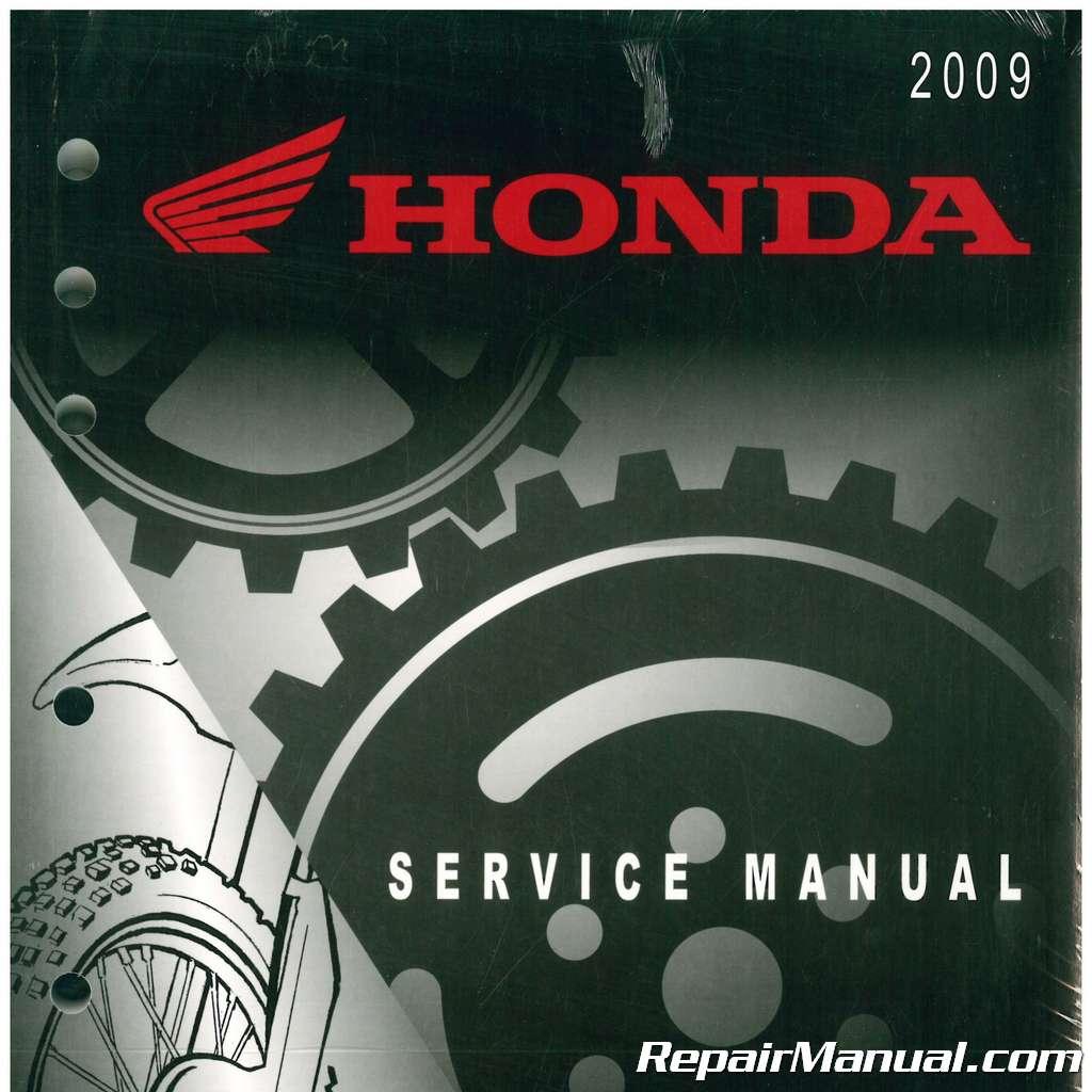 2009 honda crf450r motorcycle service manual. Black Bedroom Furniture Sets. Home Design Ideas