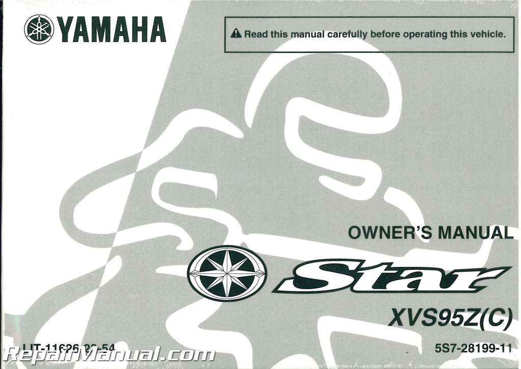 2009 yamaha v star 1300 owners manual
