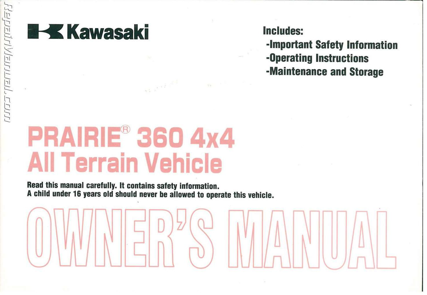 kawasaki prairie owners manual we sure like kawasaki prairie owners manual  free ebooks  2shared online file upload unlimited free web space  wiring  diagrams