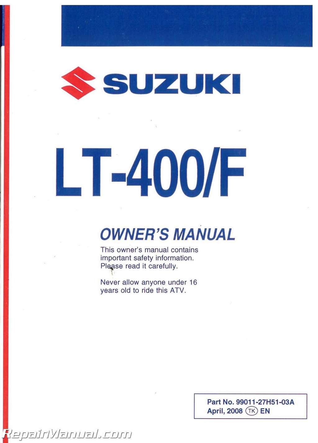 2009 Suzuki Lt