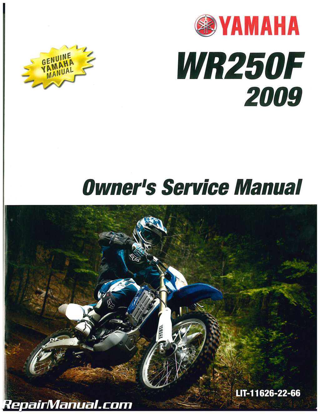 YAMAHA WR450F Owner s Manual