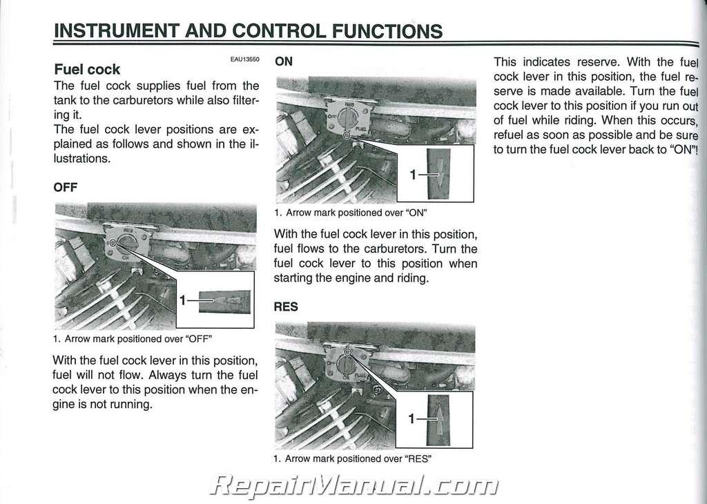Yamaha V Star Classic Owners Manual