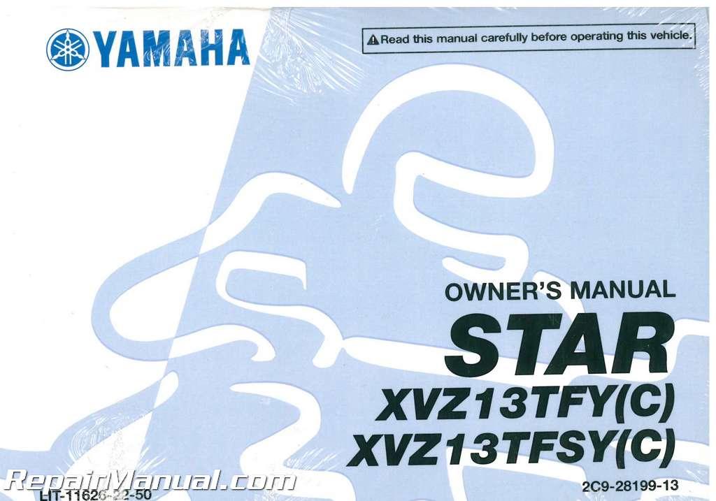 2009 yamaha xvz13 royalstar venture motorcycle owners manual rh repairmanual com yamaha v star 1100 owners manual yamaha royal star venture owners manual
