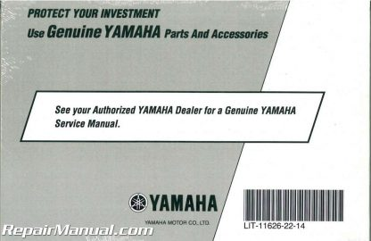 2009 Yamaha YXR700 Rhino Side X Side ATV Owners Manual