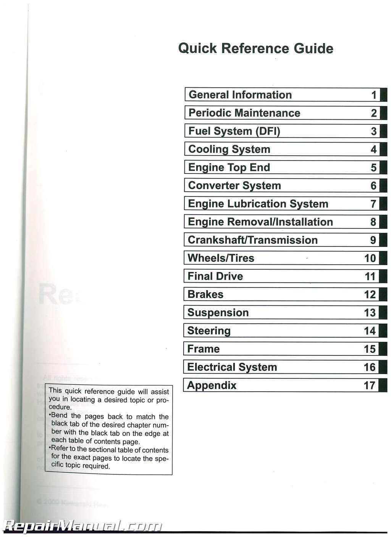 ... Array - 2010 2011 2012 2013 kawasaki krf750 teryx 750 4x4 le utv service  manual rh ...