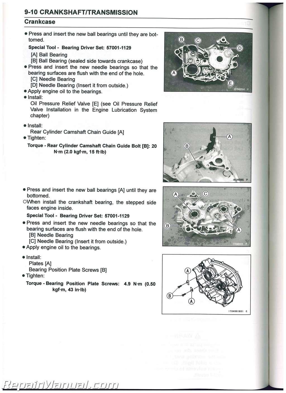 Kawasaki Teryx Utv Service Manual