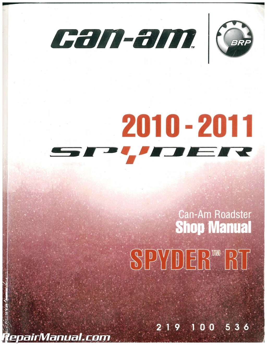 Can Am Spyder Roadster >> 2010- 2011 Can-am Spyder RT Roadster Service Manual