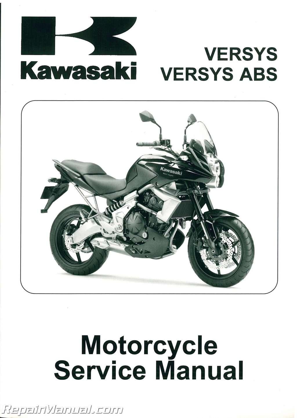 f8c178b4350 2010-2011 Kawasaki KLE650 Versys Service Manual