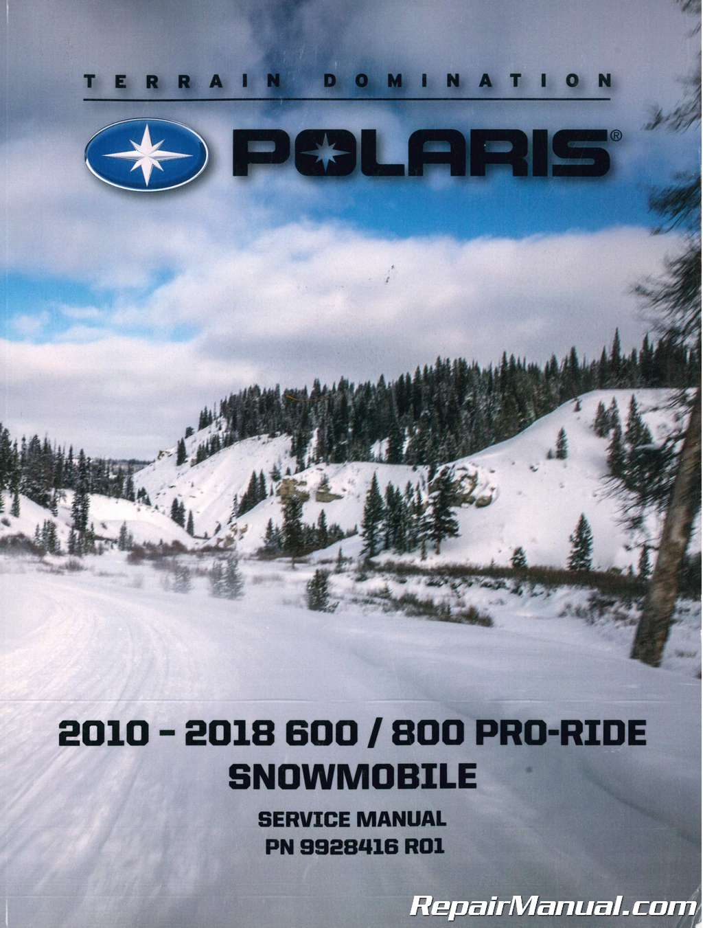 2010 2018 Polaris Pro Ride 600 800 Snowmobile Service Manual Controllers For Jetta Rear Wiring Diagram
