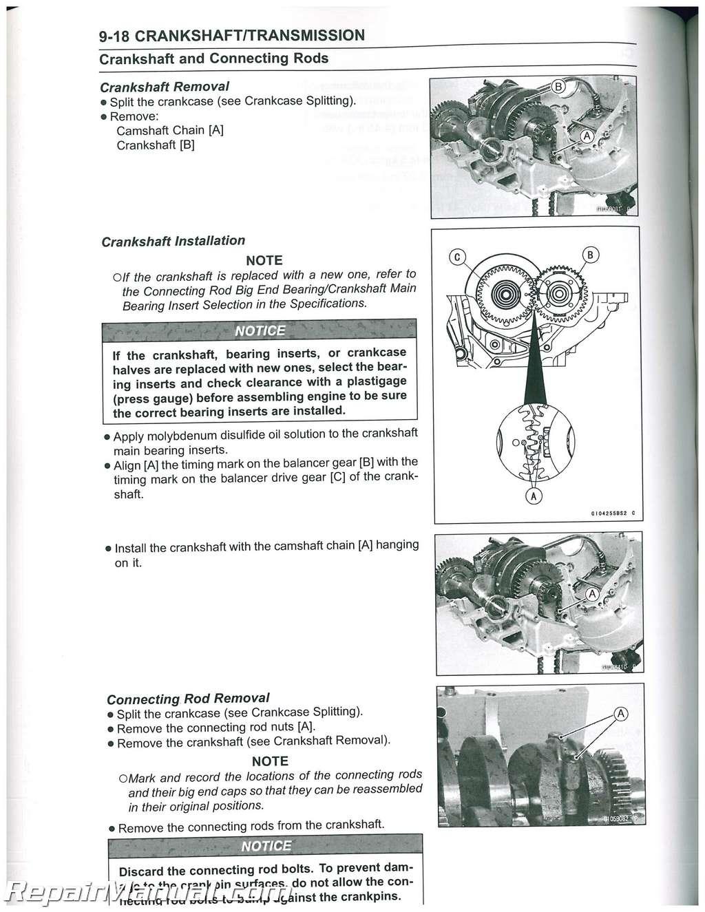 2010 Kawasaki Kle650a Versys Service Manual