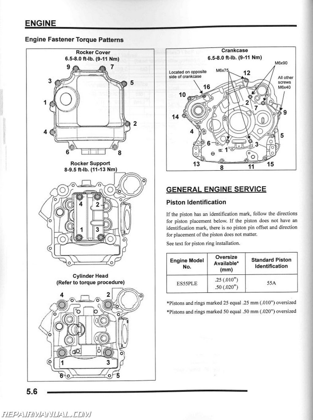 2010 polaris sportsman xp 550 atv service manual