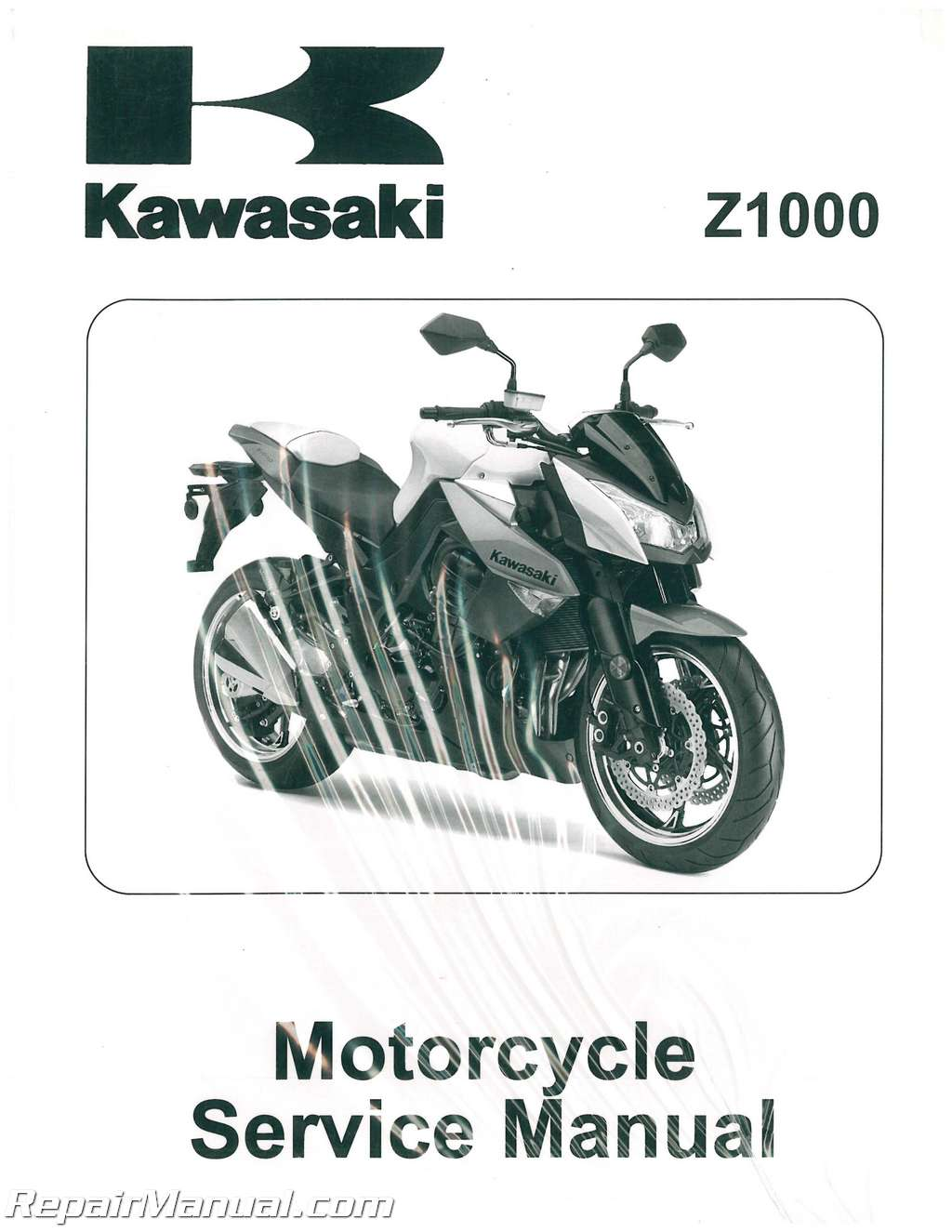 2010 Z1000 Kawasaki ZR1000D Motorcycle Service Manual