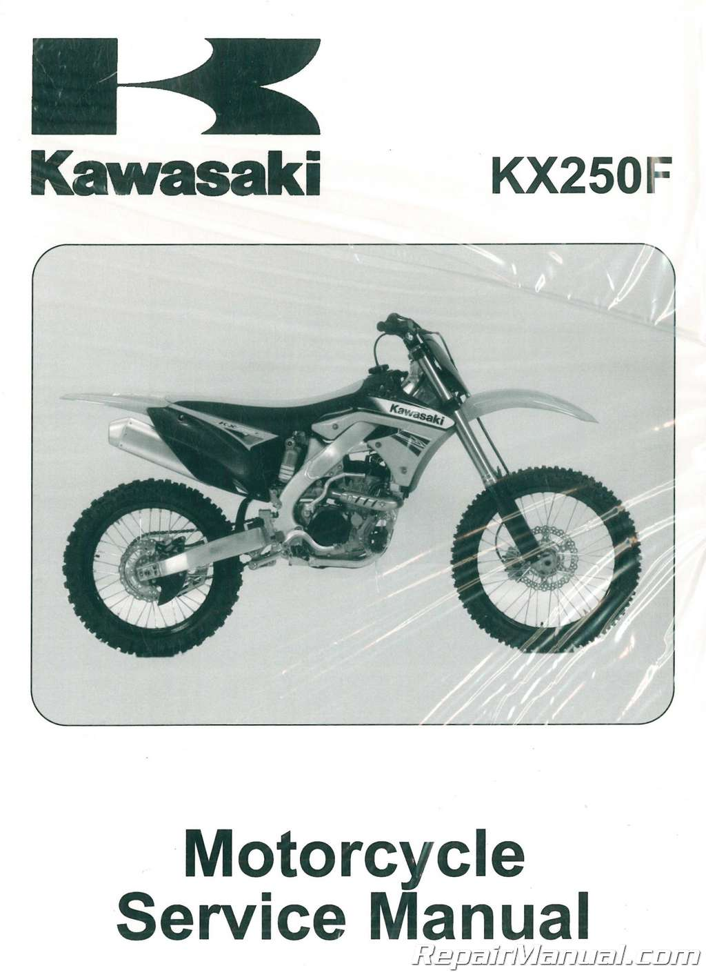 ... Array - 2011 2012 kawasaki kx250f service manual rh repairmanual ...