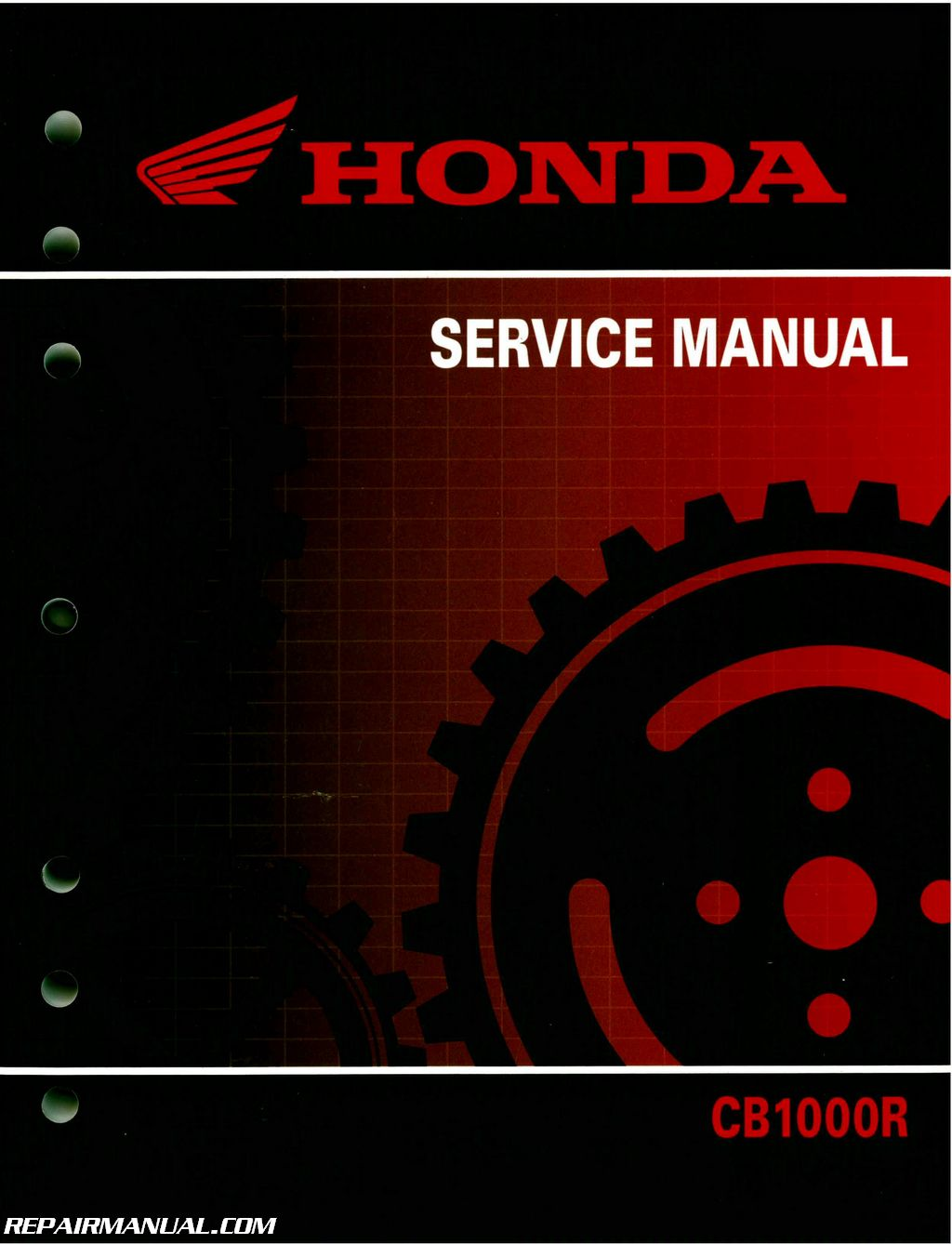 2011 2016 Honda Cb1000r Motorcycle Service Manual