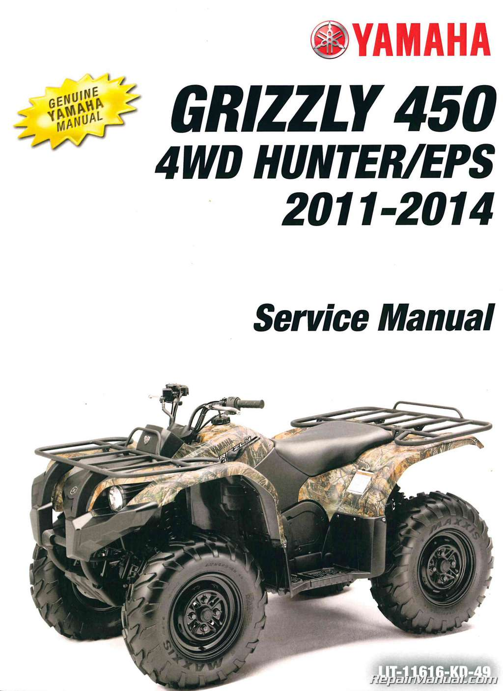2012 Yamaha Grizzly 450 Wiring Diagram - Wiring Diagram •