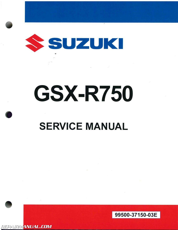 2011 2016 suzuki gsx r750 motorcycle repair manual rh repairmanual com 2007 gsxr 750 repair manual pdf suzuki gsxr 750 owners manual