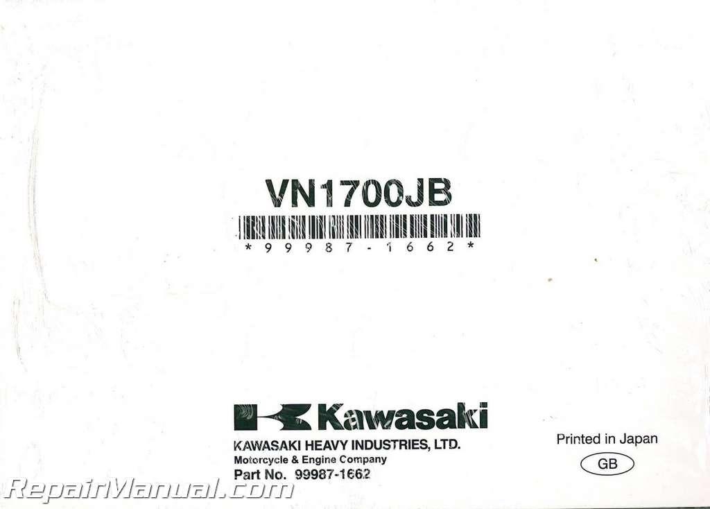 Kawasaki Vaquero Owners Manual