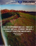 2011 Polaris Sportsman 400 And Sportsman 500 Service Manual