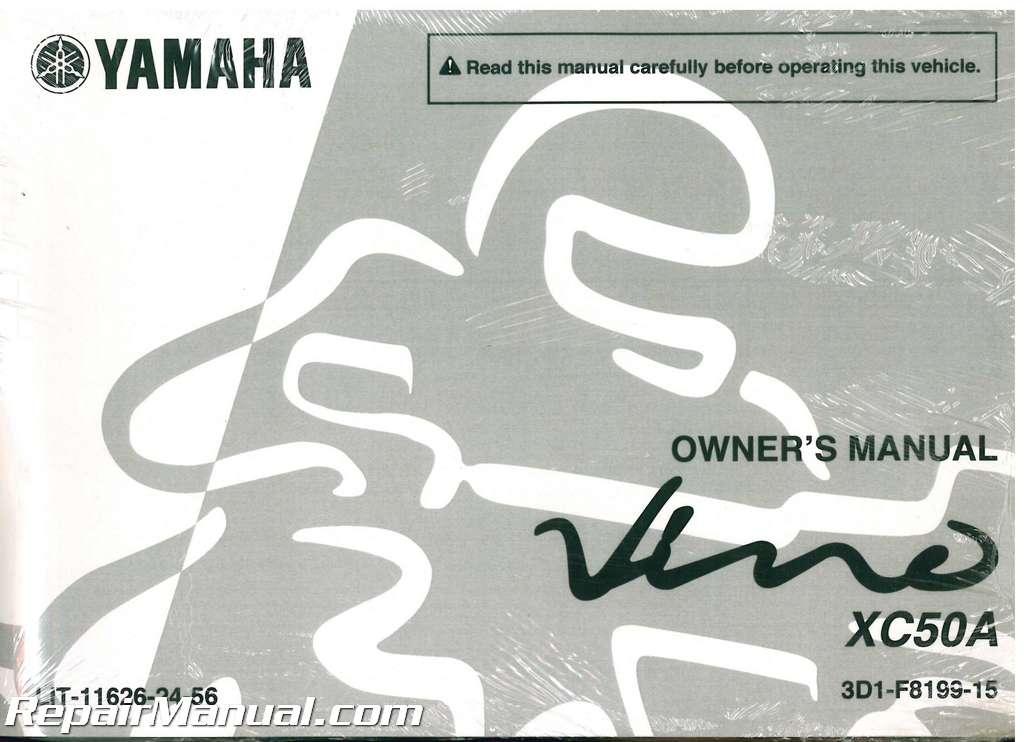yamaha vino xc50 service manual