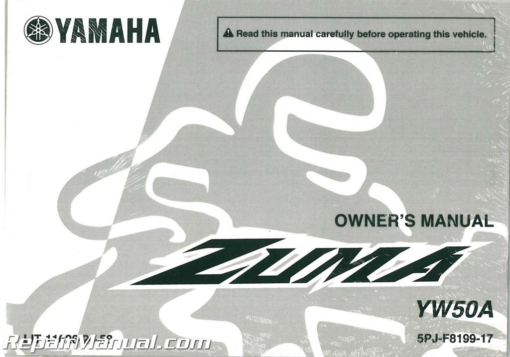 Yamaha Zuma  Owners Manual