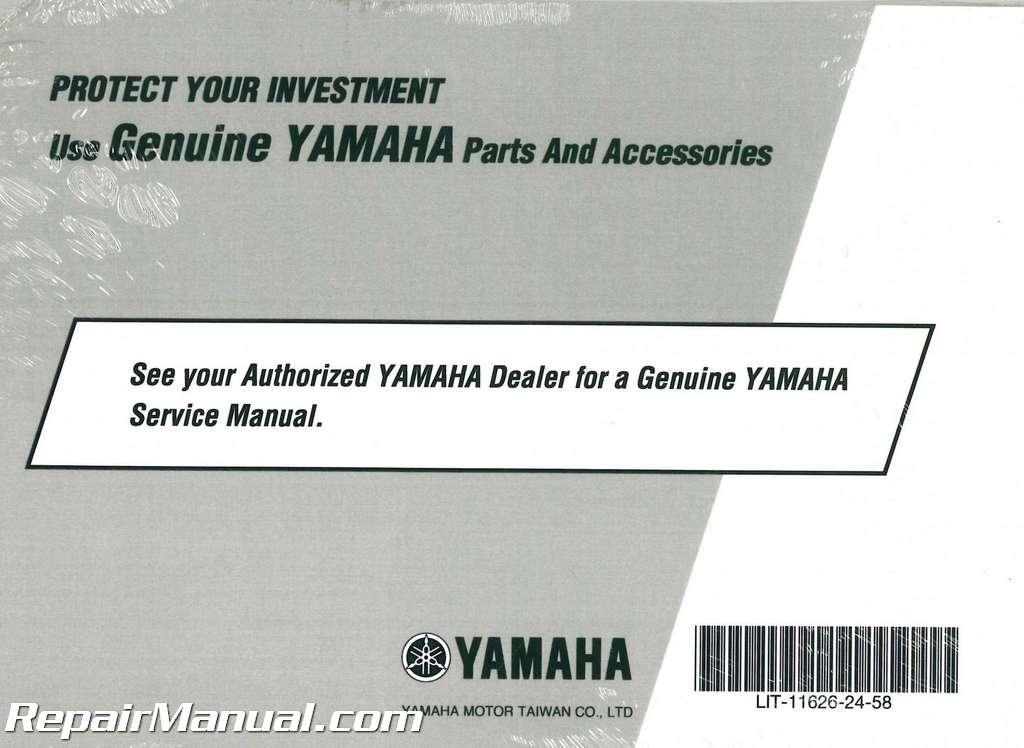 Repair manual yamaha Zuma
