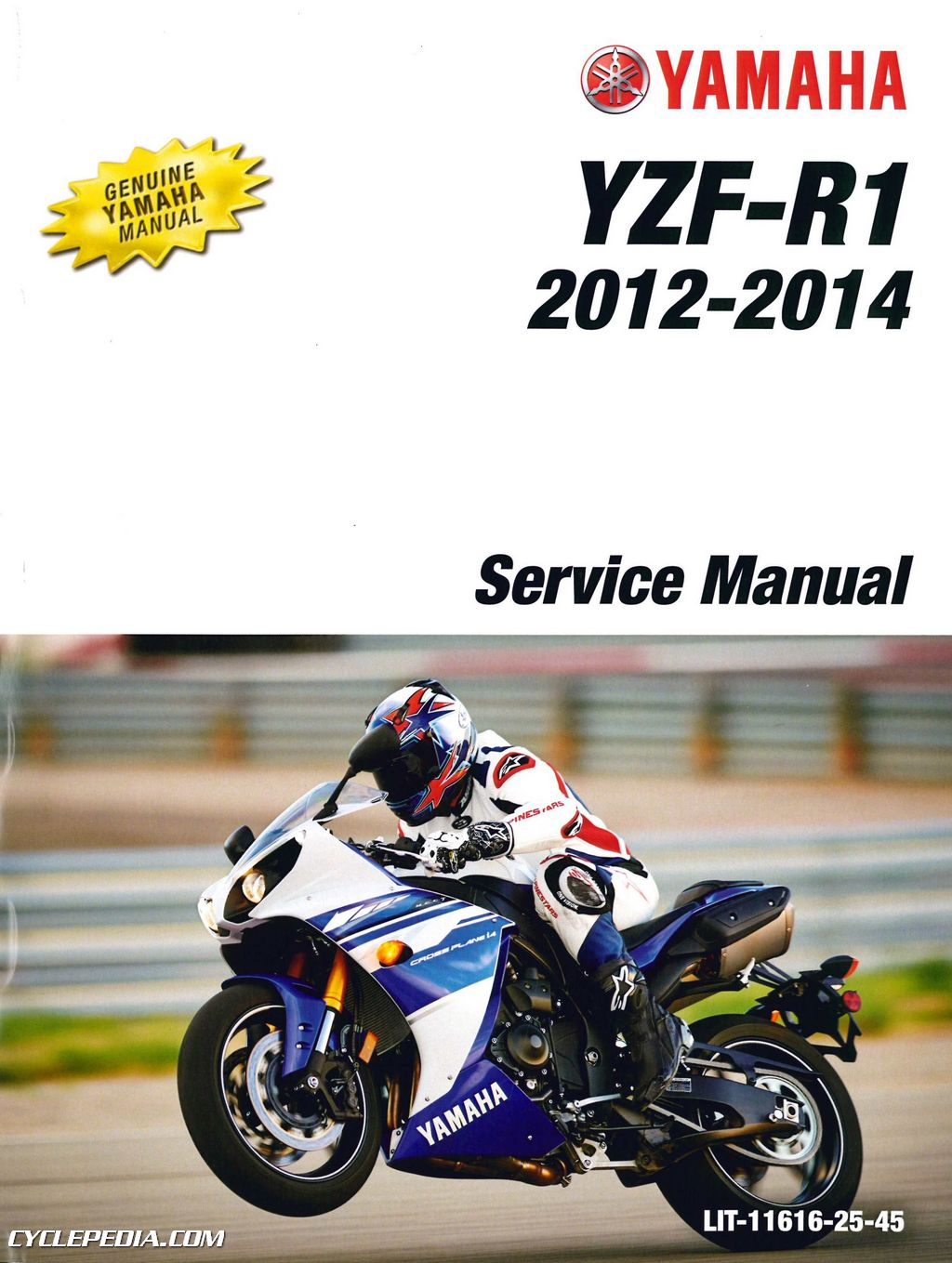 Yamaha R1 Manual Quick Start Guide Of Wiring Diagram Electrical Yzf Motorcycle 2012 2014 Yzfr1b 1000cc Service Rh Repairmanual Com 2009