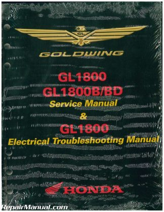 2012 2017 honda gl1800a b goldwing motorcycle service electrical rh repairmanual com goldwing 1800 service manual pdf goldwing 1800 service manual pdf