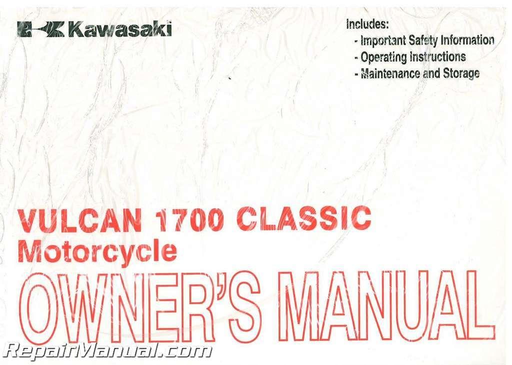 Kawasaki Vulcan Classic Repair Manual