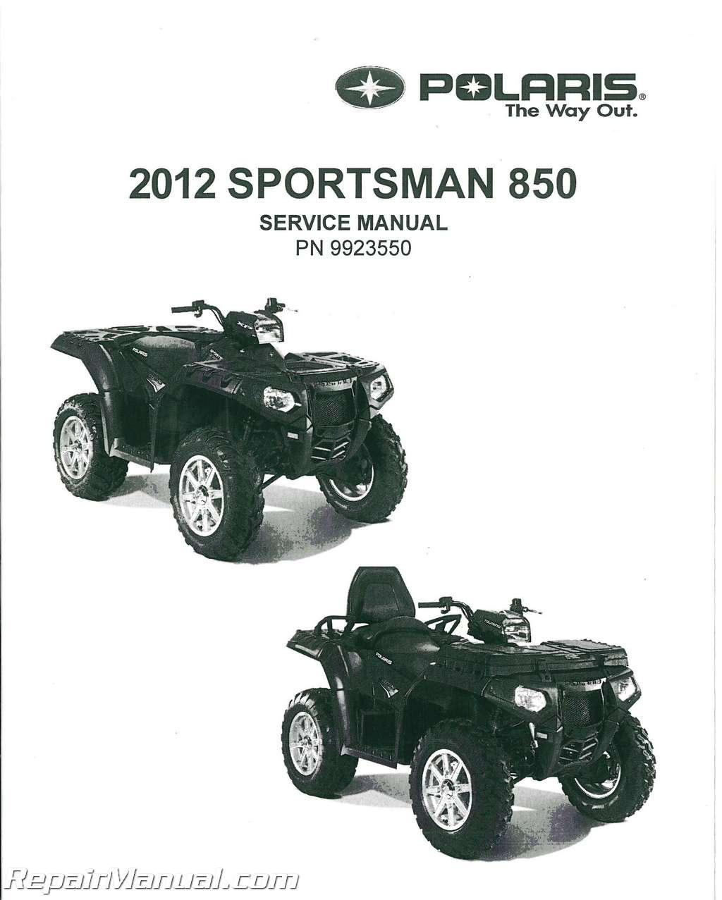polaris sportsman 800 touring 2008 factory service repair manual