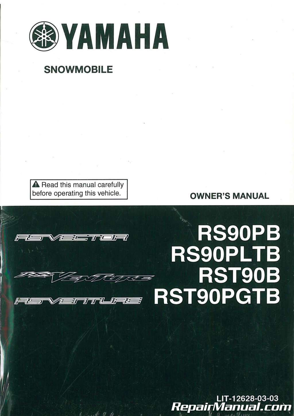 2012 Yamaha Rs Venture Rst90p Vector Rs90p Snowmobile
