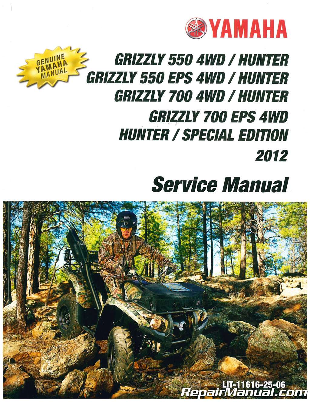 2012 yamaha yfm550 yfm700 grizzly atv service manual Training Manual Outline Template Training Manual Template