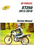 2013 – 2018 Yamaha XT250 Motorcycle Service Manual_001