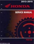 2013 - 2015 Honda PCX150 Scooter Service Manual
