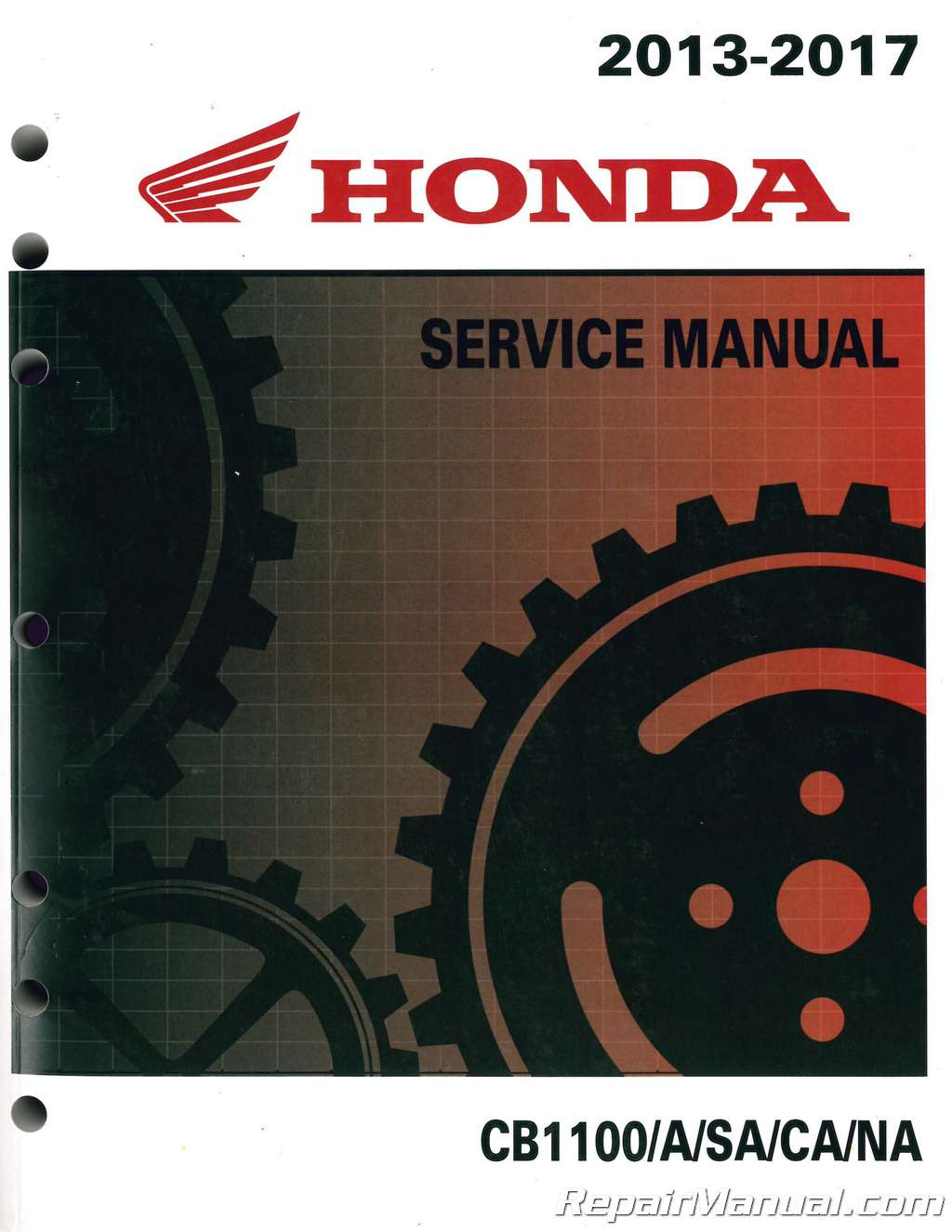 2013 2017 honda cb1100 a motorcycle service manual rh repairmanual com