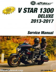 2013 - 2017 Yamaha V-Star 1300 Deluxe Motorcycle Service Manual_001