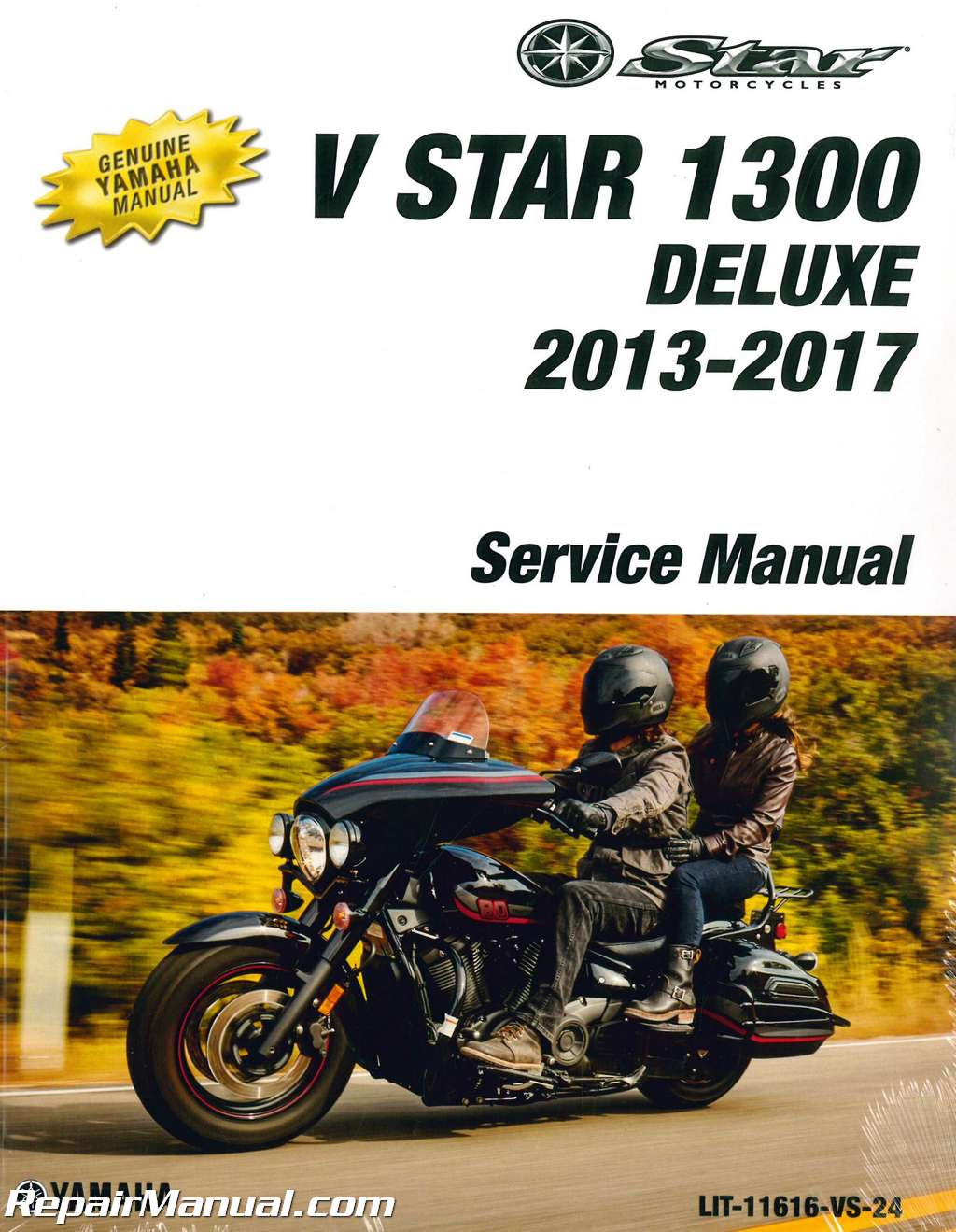 2013 2017 yamaha v star 1300 deluxe motorcycle service manual rh  repairmanual com yamaha v star 650 owners manual yamaha v star 1100 service  manual download