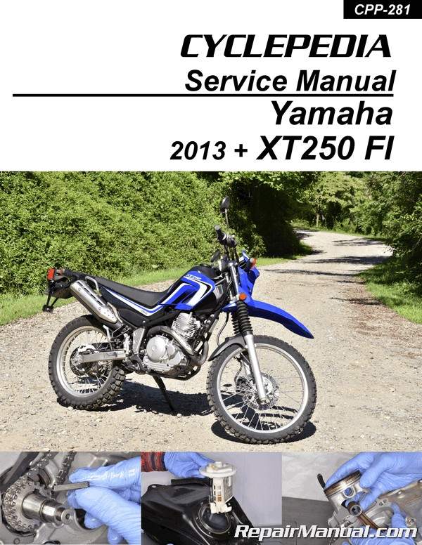 Super 2013 2019 Yamaha Xt250 Fuel Injected Motorcycle Print Service Wiring Digital Resources Zidurslowmaporg