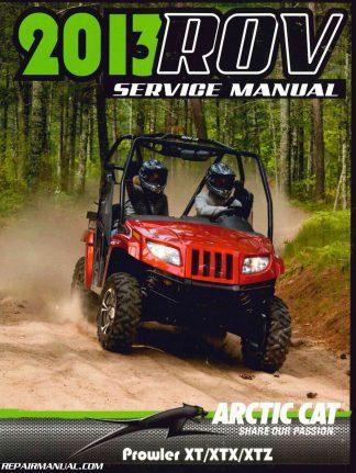 2010 Arctic Cat 650 H1 Atv Owners Manual