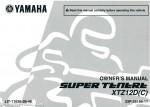2013 Yamaha XTZ12D SUPER TENERE Owner's Manual