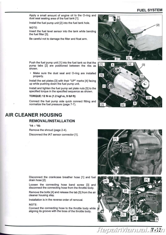 2014 2015 2016 2017 2018 2019 Honda GROM125 Motorcycle Service Manual