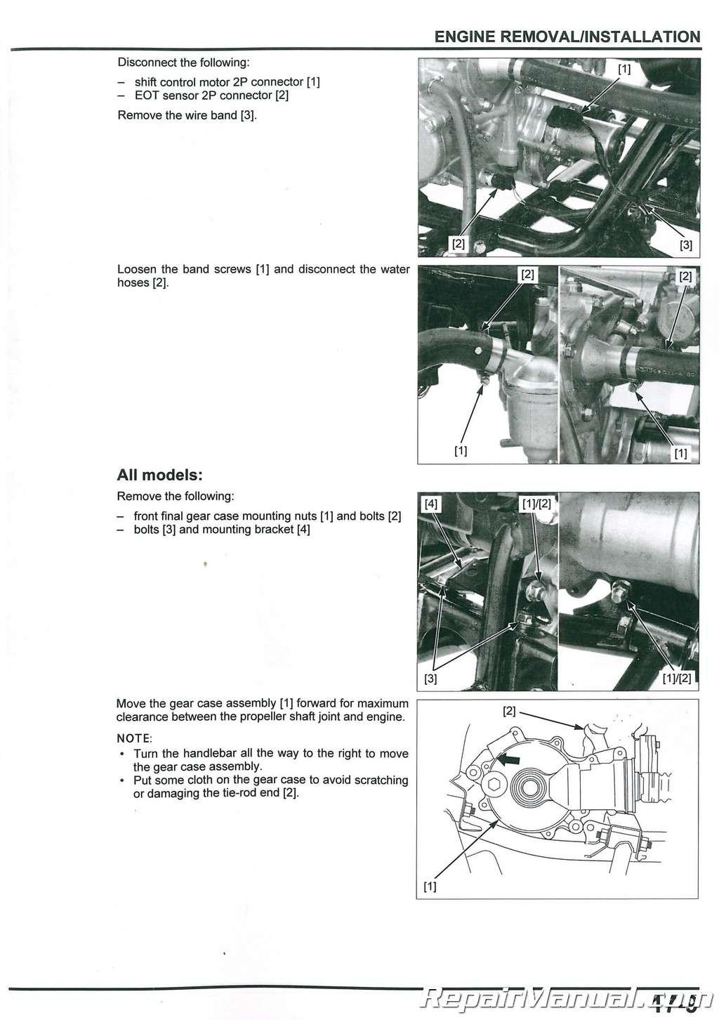 2014 2015 2016 2017 2018 Honda TRX500FE FM FA ATV Service Manual