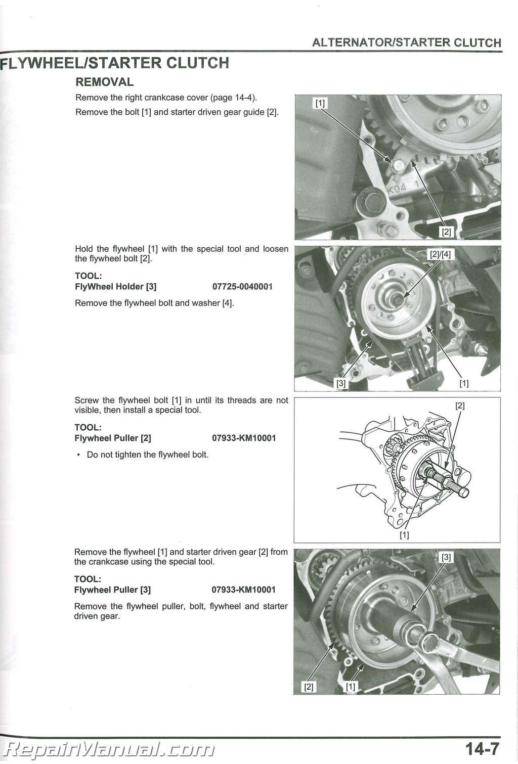 Honda manual Repair Free